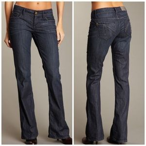 Level 99   Tall Anthropologie Kate Flare Leg Jeans